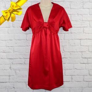 Nine West Formal Red Dress ~b0eu6p1x